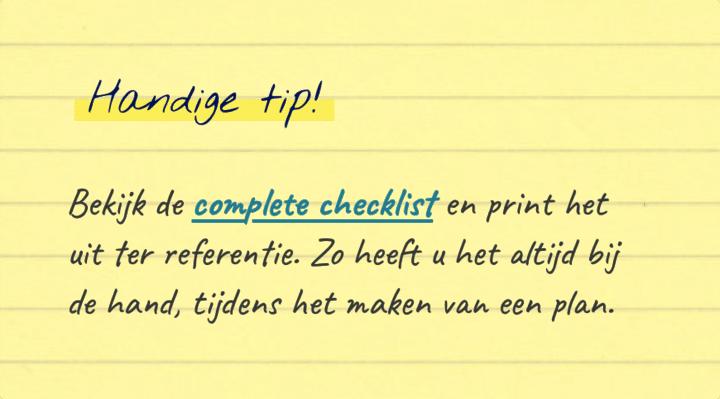 checklist ondernemingsplan Checklist Ondernemingsplan   Eerstelijnscentrum opzetten checklist ondernemingsplan